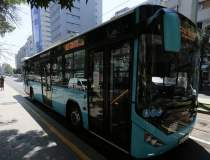 Circulaţia unor autobuze,...