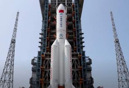 Bucăți dintr-o rachetă trimisă în spațiu de China ar urma să cadă pe Pământ în acest weekend