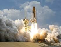 Racheta trimisă în spațiu de...