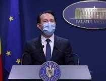 Cîțu, în prima zi fără mască...