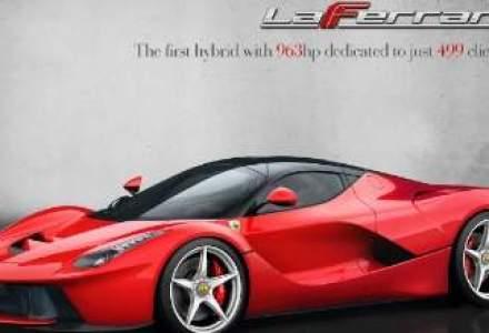Ferrari va creste productia, este vizat modelul LaFerrari