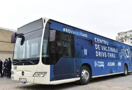 Un nou centru de vaccinare drive-thru va fi lansat în București