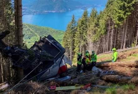 O cabină de teleferic din Italia s-a prăbușit de la înălțime. Sunt cel puțin opt morți