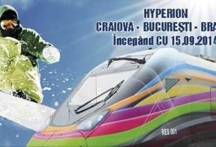 Trenul privat de 5 MIL. euro a inceput sa opereze spre Brasov