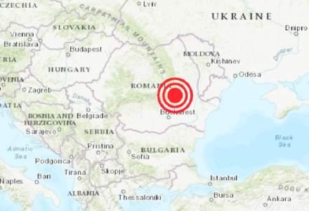 Cutremur în Vrancea: seismul s-a resimțit și în București