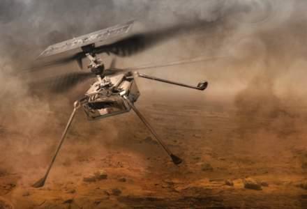 Probleme tehnice pentru mini-elicopterul NASA de pe Marte