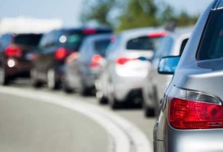 Prahova: Coloane de maşini pe DN 1, în mai multe zone