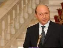 Presedintele Basescu a...