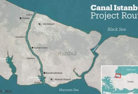 În luna iunie încep lucrările la canalul dintre Marea Neagră și Marea Marmara