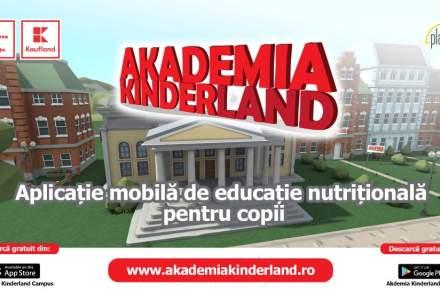 Kaufland lansează o aplicație pentru reducerea obezității infantile