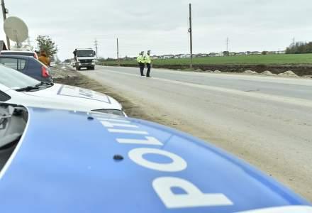 Trafic blocat parțial pe Centura Bucureștiului, după un accident grav
