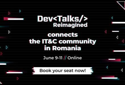 (P) DevTalks Reimagined, cel mai amplu eveniment de tehnologie, va avea loc online pe 9 – 11 iunie
