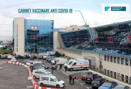 S-a deschis centrul de vaccinare de la Aeroportul Internațional Henri Coandă București