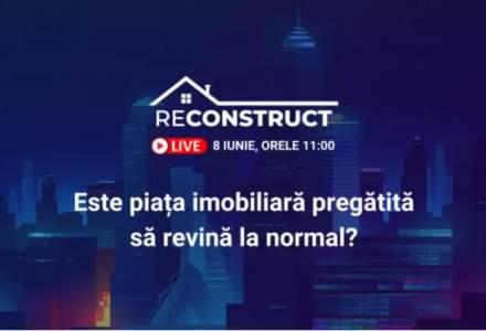 Află la reConstruct cum se pregătește piața imobiliară pentru următoarea perioadă de normalitate