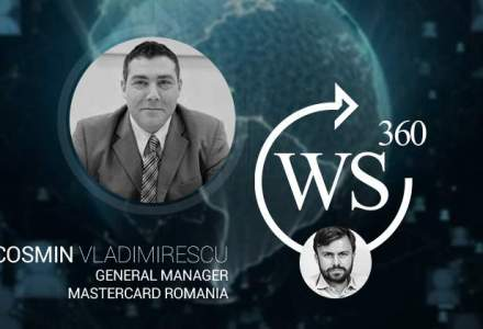 Cosmin Vladimirescu, MasterCard, invitatul WALL-STREET 360: am discutat despre piata cardurilor