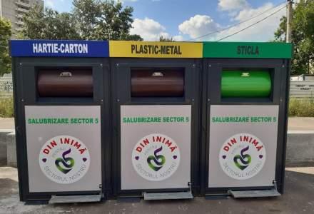 Sectorul 5 va avea module de colectare selectivă a deșeurilor