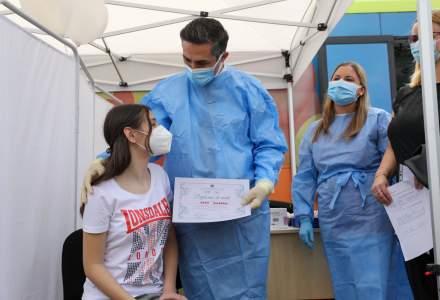 Dr. Valeriu Gheorghiță: Peste 5.100 de copii cu vârste între 12 şi 15 ani au fost vaccinaţi în ultimele 72 de ore