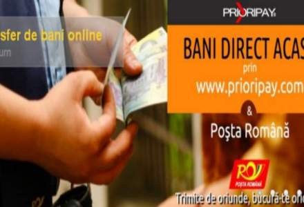 Posta a lansat un serviciu pentru transferul banilor din strainatate la domiciliul destinatarului