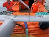 O dronă de mari dimensiuni a...