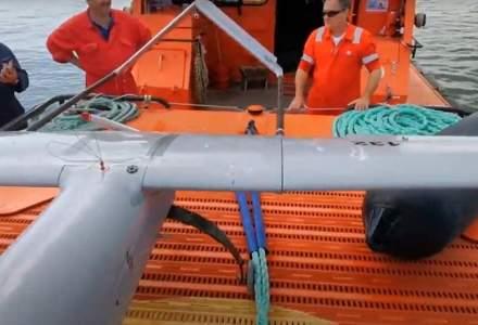 O dronă de mari dimensiuni a fost găsită în apele Mării Negre, la aproximativ 40 de mile marine de coastă