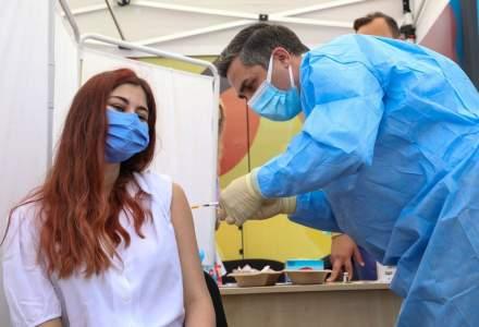 Peste 123.000 de tineri s-au vaccinat anti-COVID
