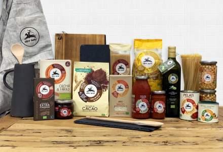 Un producător italian de alimente bio intră pe piața din România