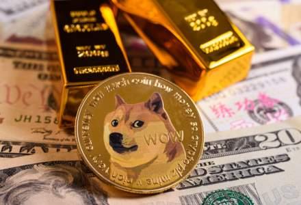 Dogecoin, criptomoneda pornită ca o glumă, este acum a treia cea mai tranzacționată din lume