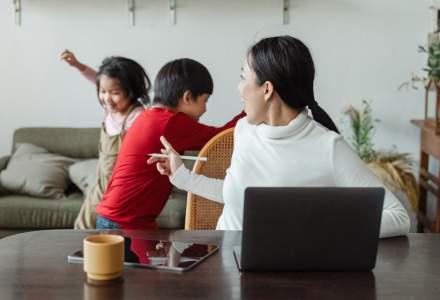 Sondaj Undelucram.ro: 2 din 3 angajați părinți au observat stări de frustrare și anxietate la copii în perioada pandemiei