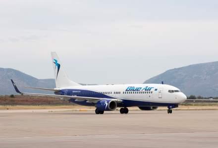 Blue Air operează 17 zboruri săptămânale directe între România şi Grecia