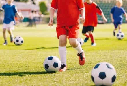 Lege: Vouchere de 300 de lei pentru copiii înscriși prima dată la un club sportiv