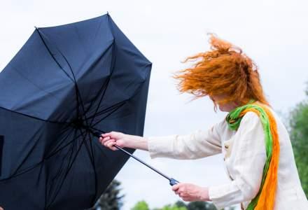 ALERTĂ ANM: Cod galben de ploi în aproape toată țara