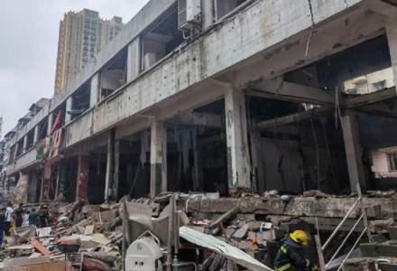 China: Explozie uriașă a unui conducte de gaz. Peste 10 oameni au decedat și sute sunt rănite