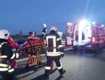 Accident grav în Arad: un...