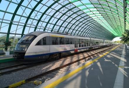 Drula laudă din nou trenul spre Aeroportul Otopeni: peste 1000 de pasageri pe zi