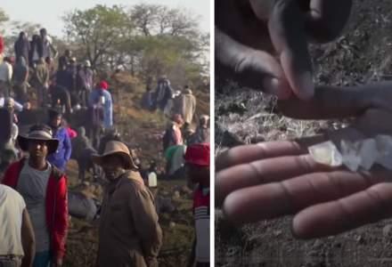 VIDEO   Un sat african invadat de mii de vânători de diamante!