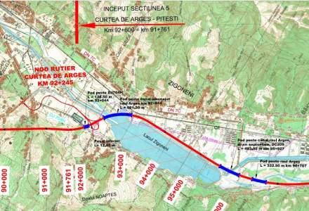 Încep lucrările la Autostrada A1 Pitești - Curtea de Argeș