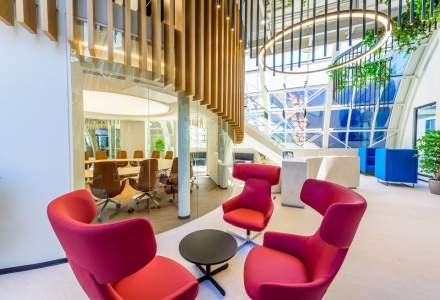 BRD inaugurează noul sediu de 9.000 mp în clădirea City Offices