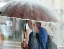 Alertă de ploi și vijelii în...