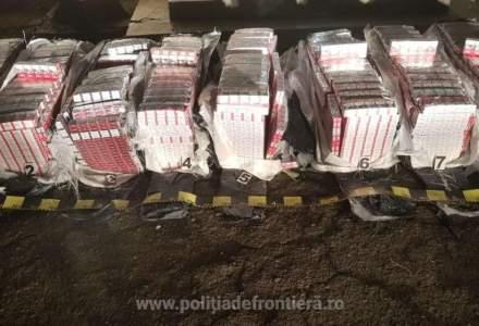 Țigări în valoare de peste 479.000 lei, confiscate la frontiera de nord