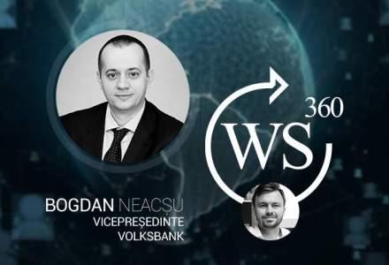 O discutie despre finantarea IMM-urilor. Invitatul WALL-STREET 360: Bogdan Neacsu, vicepresedinte Volksbank