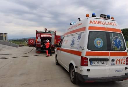 """VIDEO: Incendiu la Spitalul de Copii """"Sfânta Maria"""" din Iaşi"""