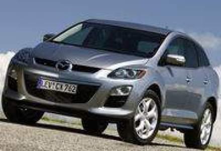 Mazda CX-7 facelift diesel, in octombrie in Romania