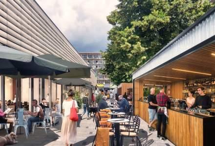 Proiect: Piața Amzei, transformată în hub cultural