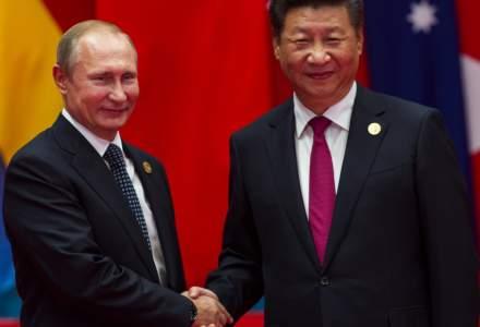 Vladimir Putin şi președintele Chinei bat palma pentru reînnoirea tratatul de prietenie ruso-chinez
