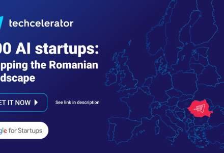 Techcelerator lansează 100 AI Startups, harta startup-urilor AI din România, și începe înscrierile la ediția a doua de Advancing AI