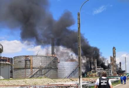 Felix Crudu-Teşloveanu, director general Rompetrol Rafinare, despre incendiul de la Petromidia: A fost o conductă care s-a fisurat
