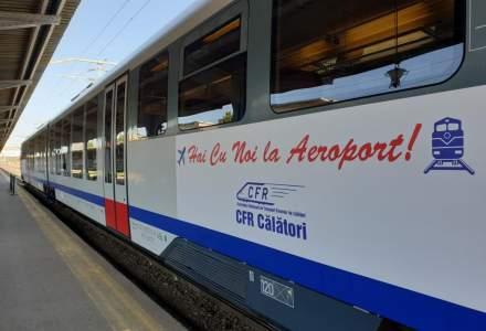 Trenurile CFR Călători care circulă spre/dinspre Aeroportul Henri Coandă vor opri și la Parc Mogoșoaia