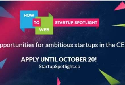 (P)Mentorat, oportunitati de investitii si premii in valoare de 20.000 USD la How to Web Startup Spotlight
