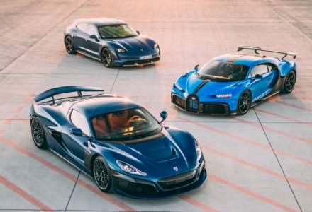 Compania croată Rimac a preluat controlul Bugatti