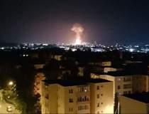 Explozie urmată de incendiu...